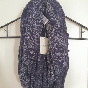 Lucky Brand Paisley Loop Scarf